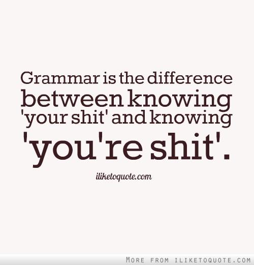 Grammar quote #4