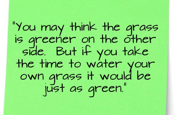 Grass quote
