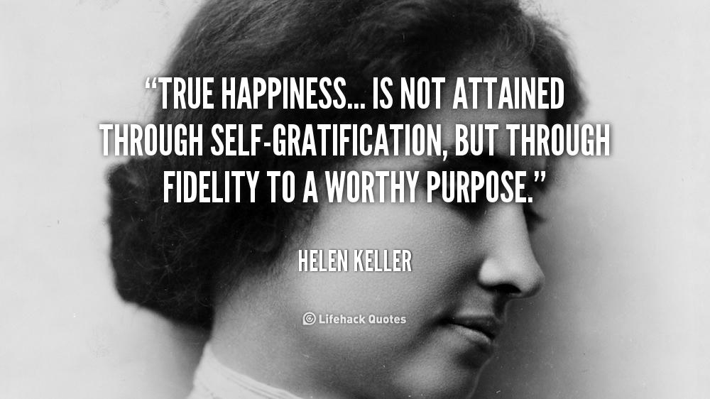 Gratification quote