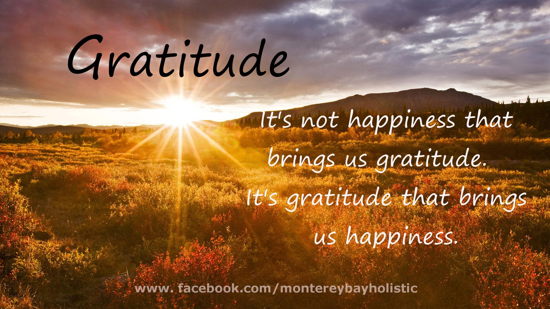 Gratitude quote #1