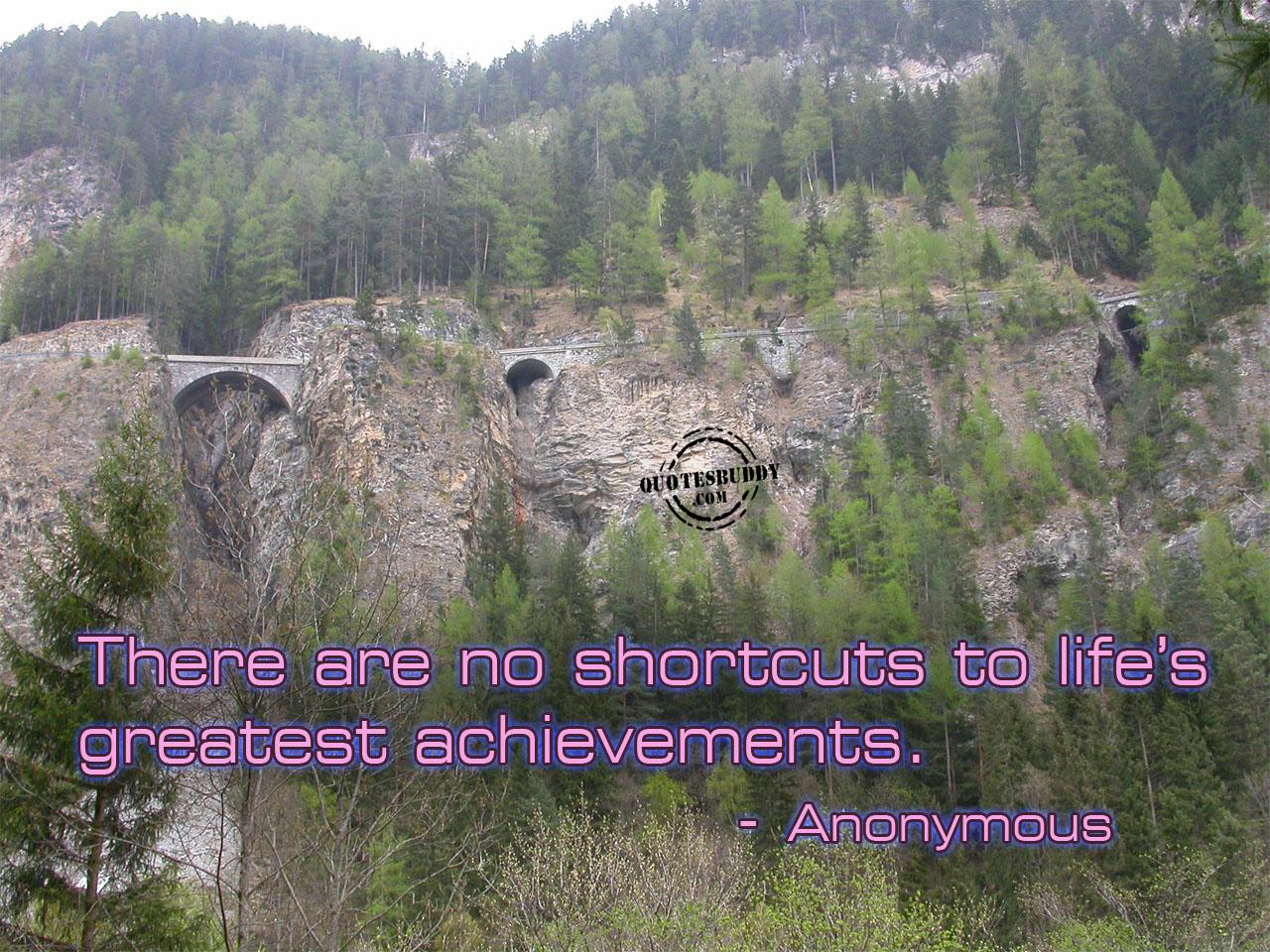 Great Achievement quote #1