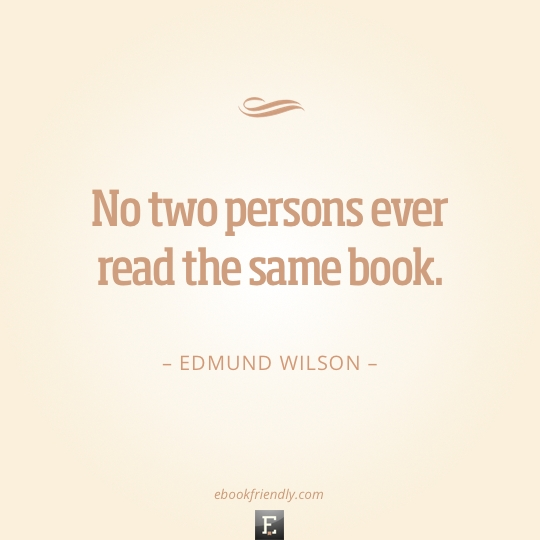 Great Book quote #1