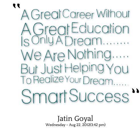 Great Career quote #2