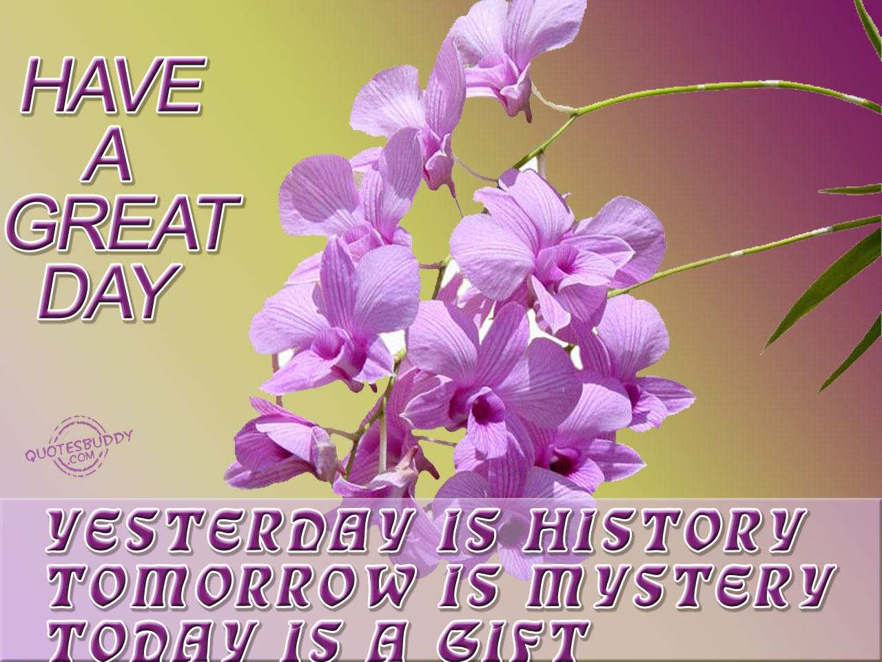 Famous Quotes About Great Day Sualci Quotes