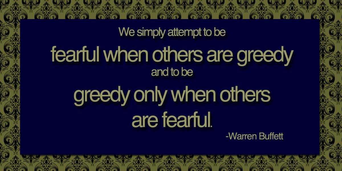 Greedy quote #1