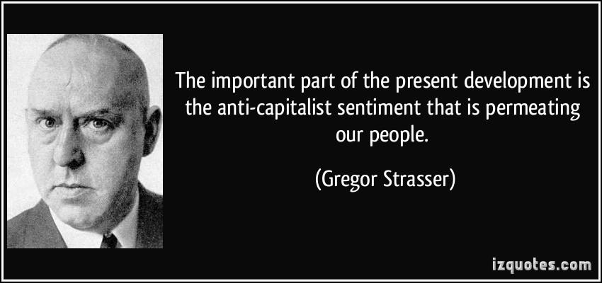 Gregor Strasser's quote