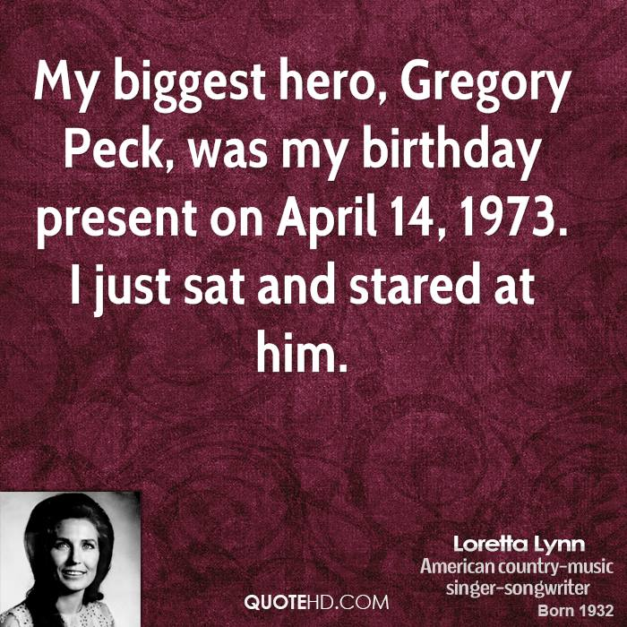 Gregory Peck's quote #4