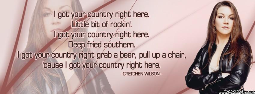 Gretchen Wilson's quote #6