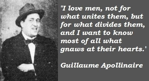 Guillaume Apollinaire's quote #1