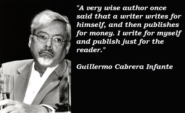 Guillermo Cabrera Infante's quote #8