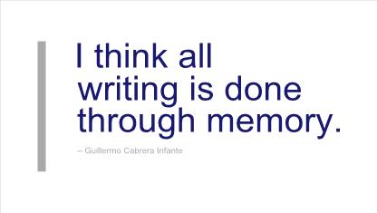 Guillermo Cabrera Infante's quote #2