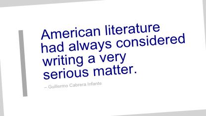 Guillermo Cabrera Infante's quote #7