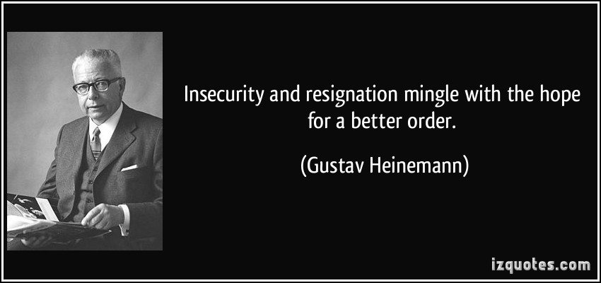 Gustav Heinemann's quote #6