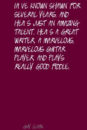 Guy Clark's quote #5