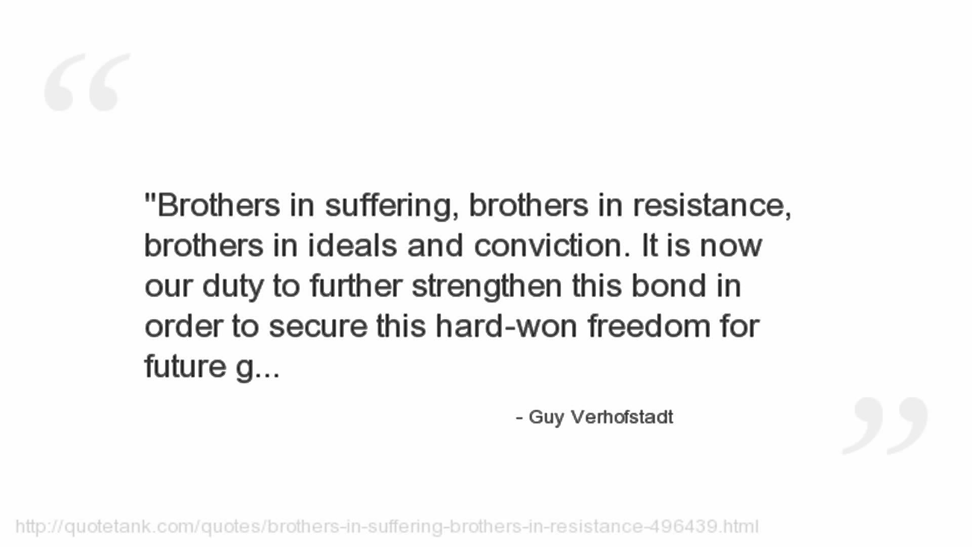 Guy Verhofstadt's quote #1
