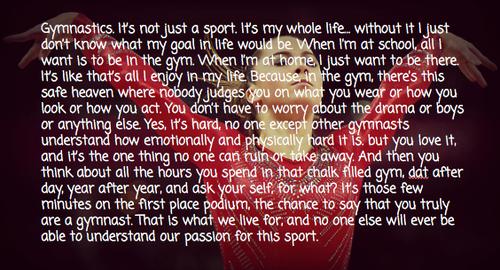 Gymnastics quote #3