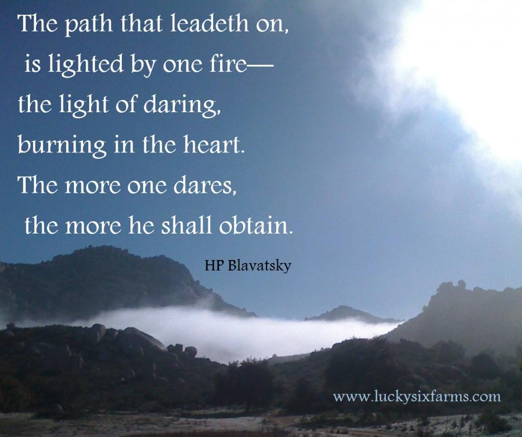 H. P. Blavatsky's quote #1