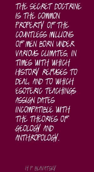 H. P. Blavatsky's quote #4
