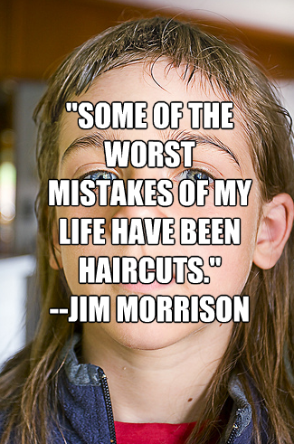Haircuts quote #1
