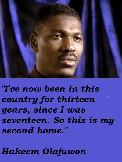 Hakeem Olajuwon's quote #3