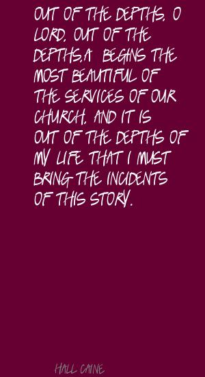 Hall Caine's quote #6