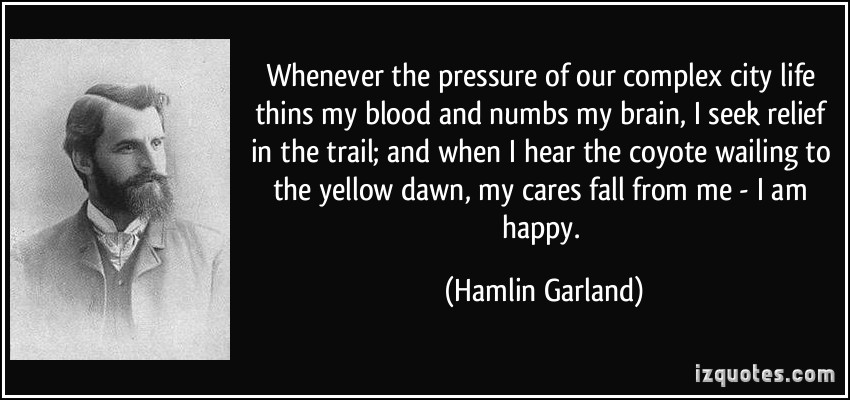 Hamlin Garland's quote #2