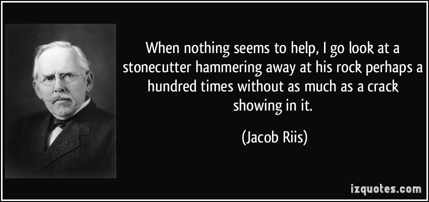 Hammering quote #1