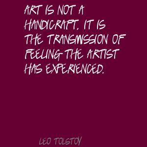 Handicraft quote