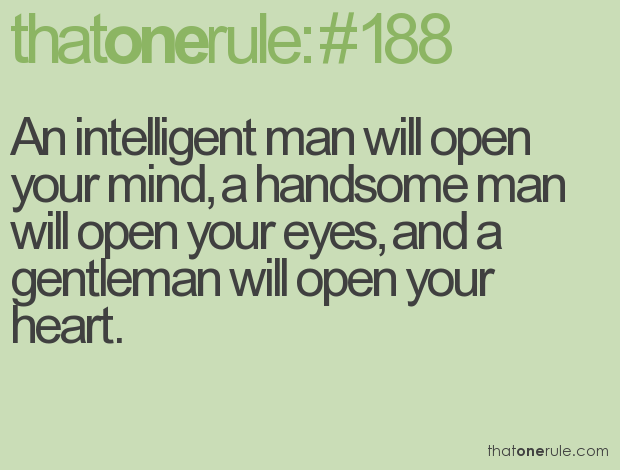 Handsome quote #5