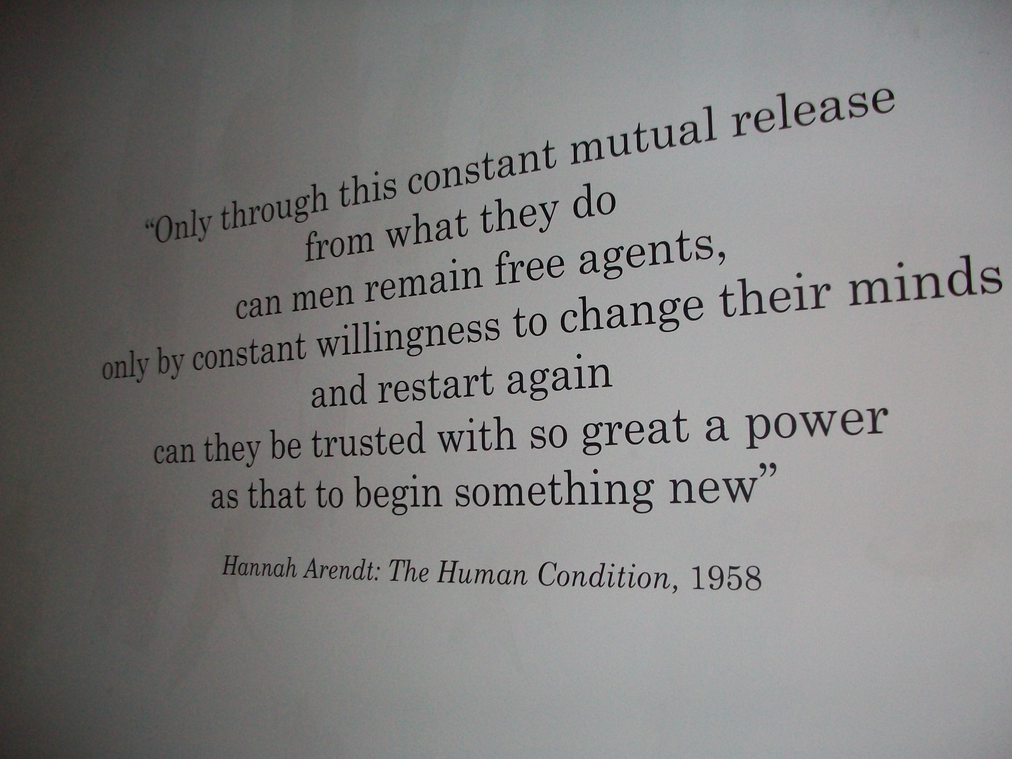 Hannah Arendt's quote #8