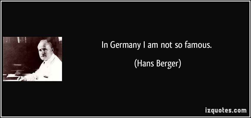 Hans Berger's quote #1