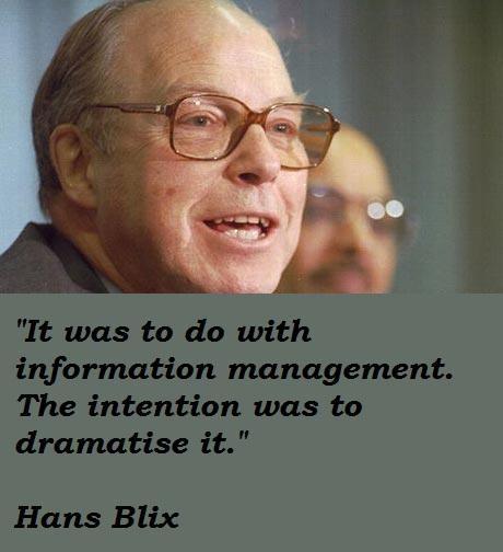 Hans Blix's quote #3