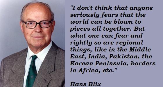 Hans Blix's quote #8