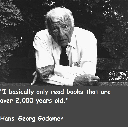 Hans-Georg Gadamer's quote #3