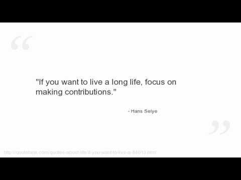 Hans Selye's quote #3