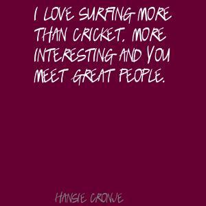 Hansie Cronje's quote #2