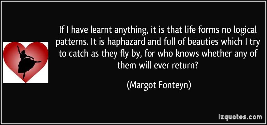 Haphazard quote #1