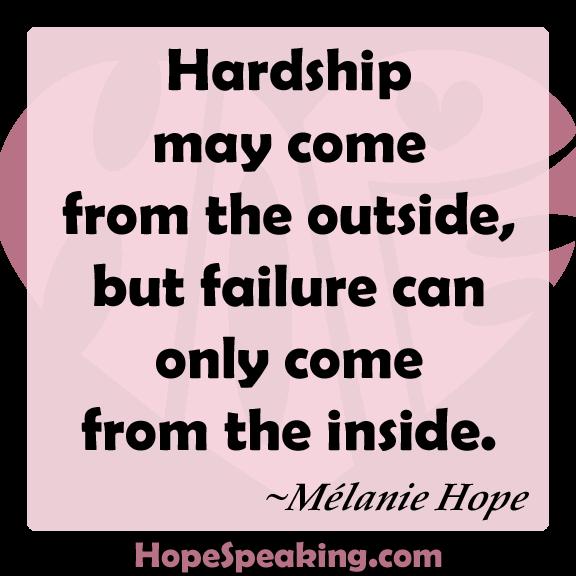 Hardship quote #2