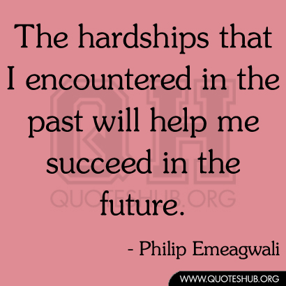Hardships quote #2