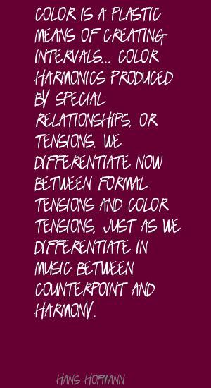 Harmonics quote #1