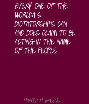 Harold H. Greene's quote #2