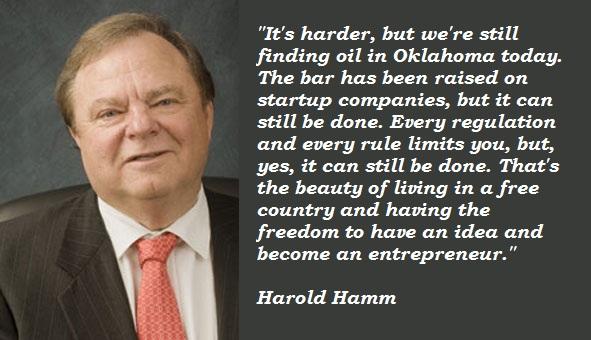 Harold Hamm's quote #2