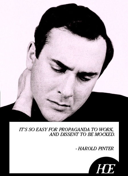 Harold Pinter's quote #1