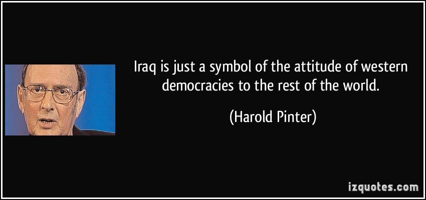 Harold Pinter's quote #7