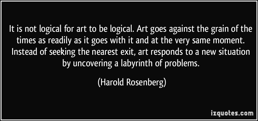 Harold Rosenberg's quote #3
