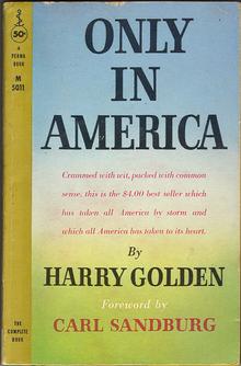 Harry Golden's quote #4