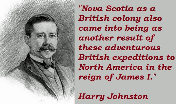 Harry Johnston's Quotes, Famous And Not Much