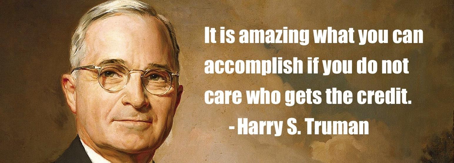 Harry S. Truman's quote #1