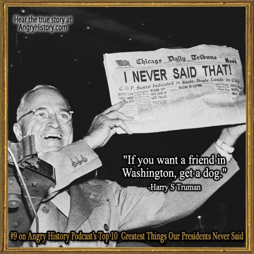 Harry S. Truman's quote #7