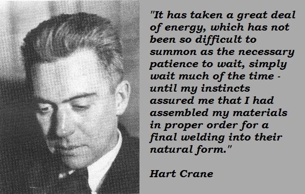 Hart Crane's quote #2